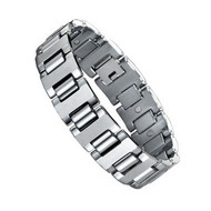 12.5mm Magnet Tungsten Bracelet