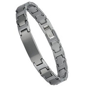 Tungsten Plate 8.5mm Bracelet