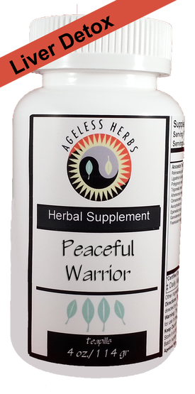 Peaceful Warrior Organic Ageless Herbs
