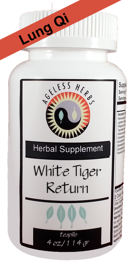 White Tiger Return Organic Herbs