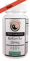 Return to Spring - Herbal Formula - Healthy Hair Supplement Powder
