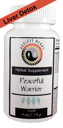 Peaceful Warrior - Herbal Formula - Liver Damp-Heat Clearing Supplement