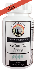 Return to Spring - Herbal Formula - Healthy Hair Supplement