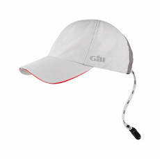 Gill Race Cap in Silver