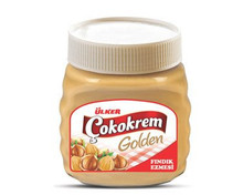 Ulker Golden Hazelnut Cream / Ulker Golden Findik Ezmesi