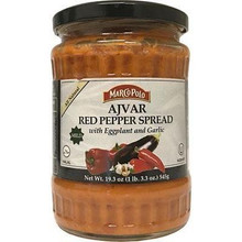 Marco Polo Red Pepper Spread w/Eggplant and Garlic