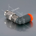 ---- 806-388 ---- Right angle jet adaptor (4mm) (qty. discount)