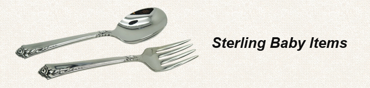 Sterling Baby Items