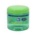 IC Fantasia Hair Polisher Olive Styling Gel with Sparkle Lites 16 oz