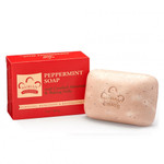 Nubian Heritage Peppermint Soap with Crushed Almonds & Baking Soda 5 oz
