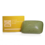 Nubian Heritage Olive Butter Soap with Avocado & Green Tea Leaves 5 oz