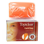 Topiclear Carrot Soap for Healthy and Fresh Skin 3 oz