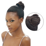 Model Model Glance Bun Blackberry