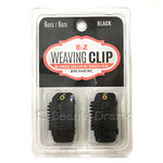 EZ Weaving Clip No Sewing Required 6 PCS Black