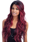 MODEL MODEL Deep Invisible Part lace Front Wig Saffron