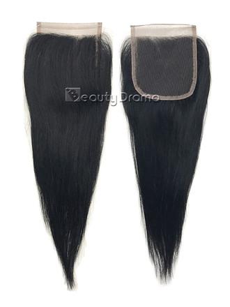 """Model Model 100% Human Hair 4""""x4"""" Lace Closure 12"""""""