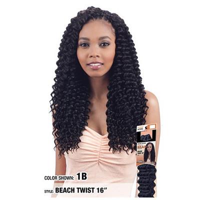 "MODEL MODEL Glance Crochet Braid Beach Twist 16"""