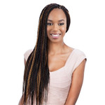 MODEL MODEL Glance Crochet Braid Large Box Braid 18""