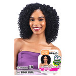 MODEL MODEL Glance Crochet Braid 2X Ziggy Wand Curl
