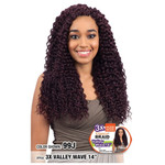MODEL MODEL 3X Glance Crochet Braid Valley Wave 14""