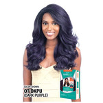 MODEL MODEL Deep Invisible Lace Front Wig Blue Meadow
