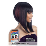 MODEL MODEL Synthetic Clean Cap Wig Number 12