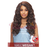 Vanessa Top Super C-Side Lace Part Synthetic Lace Wig Megan