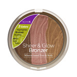 Nicka K Sheer & Glow Bronzer, Mineral-based Face & Body