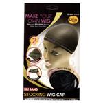 M&M HeadGear Qfitt Sili Band Stocking Wig Cap #5001