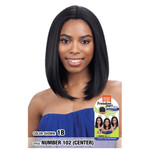 MODEL MODEL Synthetic Freedom Part Wig Number 102 Front