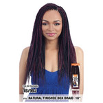 MODEL MODEL Glance Crochet Braid Natural Finished Box Braid 18""