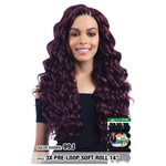 MODEL MODEL Glance Crochet Pre-Loop Braid 3X Soft Roll 14""