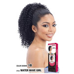 MODEL MODEL Drawstring PonyTail Water Wave Girl