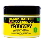 ECO Style Black Castor Oil & Flaxseed Oil Deep Conditioning Therapy 12 oz