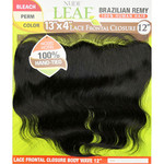 """Model Model Nude Fresh Brazilian Remy 100% Human Hair Lace 13""""x4"""" Lace Frontal Closure Body Wave 12"""""""