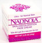 Nadinola Skin Fade Cream Ultra for Normal Skin 2.25 oz