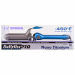 "BaByliss PRO Nano Titanium 1 ½"" Barrel Curling Iron Turbo Heat"