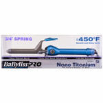 "BaByliss PRO Nano Titanium 3/4"" Barrel Curling Iron Turbo Heat"