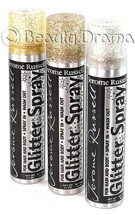 Jerome Russell Glitter Spray For Hair Amp Body Combo Set