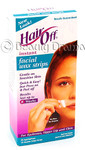 Hair Off Instant Facial Wax Strips Gentle on Sensitive Skin