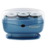 "BaByliss Nano Titanium 5 Roller Set 1.5"" Hair Curling Set Blue"