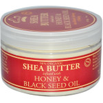 Nubian Heritage Organic Shea Butter with Honey & Black Seed Oil