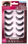 Kiss i ENVY Value Pack Human Hair Eyelashes-Juicy Volume 02, KPEM13