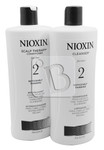 NIOXIN System 2 Cleanser & Scalp Therapy Duo Set 25 fl oz