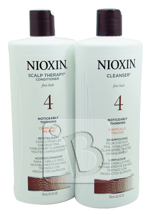 Nioxin Normal To Thin Looking Cleanser Amp Scalp Therapy Duo