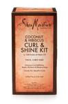Shea Moisture Coconut & Hibiscus Curl & Shine Kit