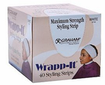 GRAHAM Wrapp-It Styling Strips 40 Styling Strips White