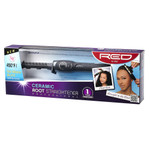 Red by Kiss Ceramic Root Straightener 3/8""