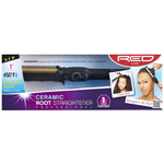 Red by Kiss Ceramic Root Straightener 1""