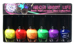 KleanColor Neon Night Life Mini Nail Lacquer Collection